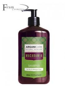 Шампунь Macadamia для сухих и поврежденных волос 400ml