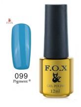 099 FOX Гель-Лак gold Pigment 12ml