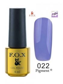 022 Гель лак FOX Masha Create (Насыщенно фиолетовый) 6ml