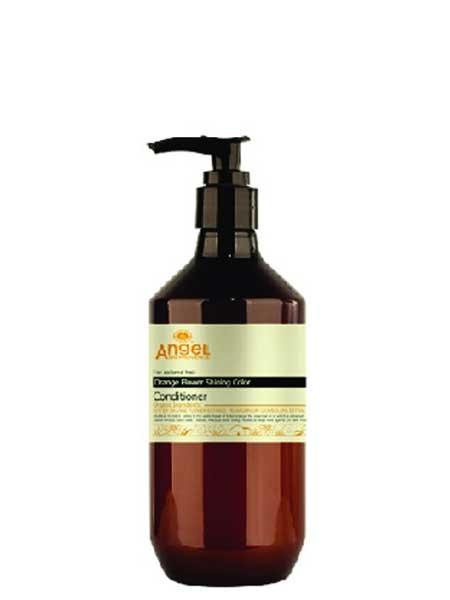 """Кондиционер для окрашенных волос """"Сияющий цвет"""" с цветком апельсина Angel Provence"""