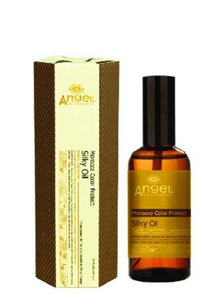 Масло для защиты цвета волос с маслом цветов апельсина Angel Provence