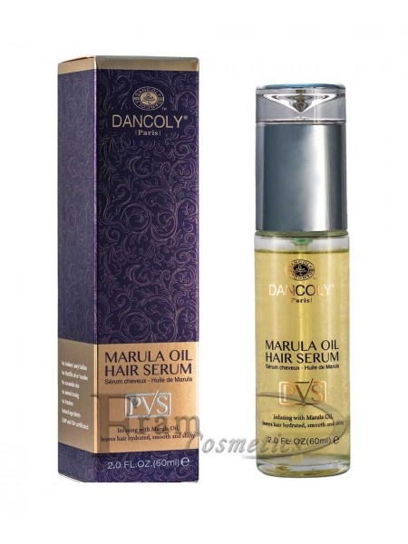 Сыворотка восстановление и увлажнение поврежденных волос с маслом марулы Dancoly