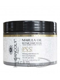 Маска восстановление и увлажнение поврежденных волос с маслом марулы Dancoly