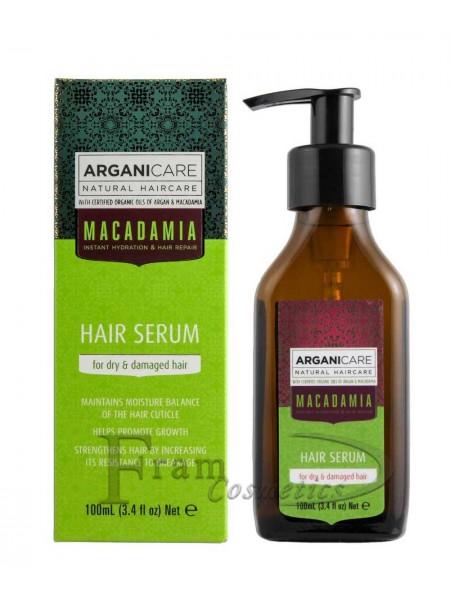 Сыворотка для сухих и поврежденных волос ArganiCare Macadamia