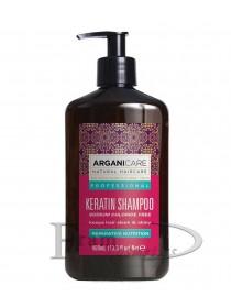 Кератиновый шампунь для всех типов волос ArganiCare