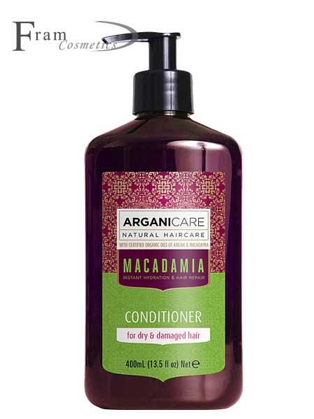 Кондиционер для сухих и поврежденных волос ArganiCare Macadamia