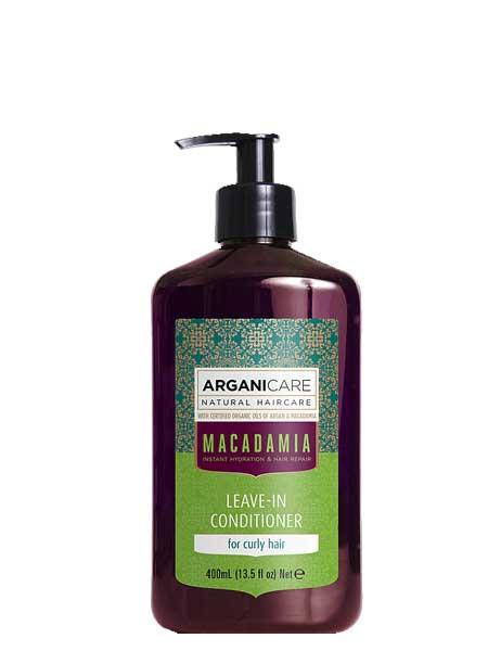 Кондиционер для вьющихся волос ArganiCare Macadamia