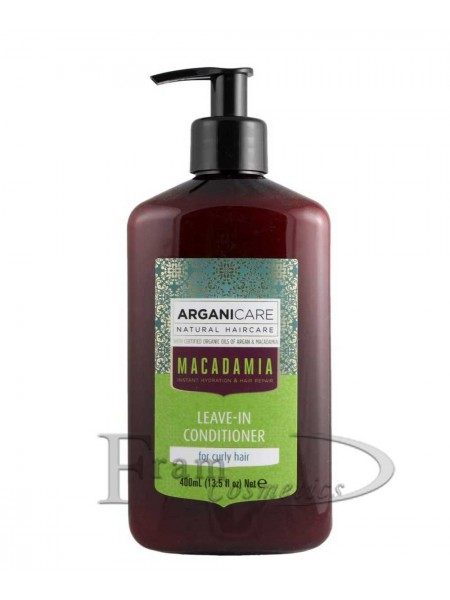 Кондиционер для сухих волос ArganiCare  Macadamia 400ml