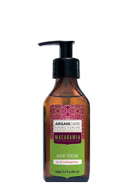 Сыворотка Macadamia для сухих волос ArganiCare 100ml