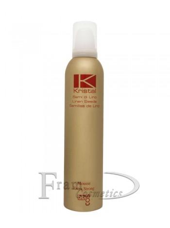Мусс экстра сильной фиксации для волос Bbcos Kristal