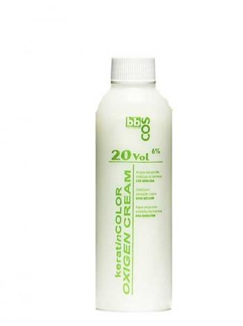 Окислитель кремообразный с кератином 20 V 6% BBcos 150мл