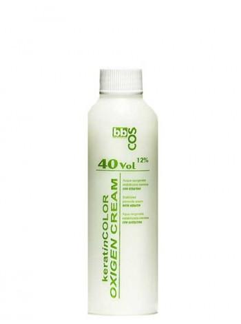 Окислитель кремообразный с кератином 40V 12% BBcos 150мл