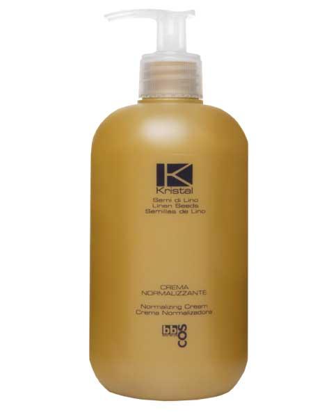 Нормализующий крем для сухих и окрашенных волос BBcos 500ml