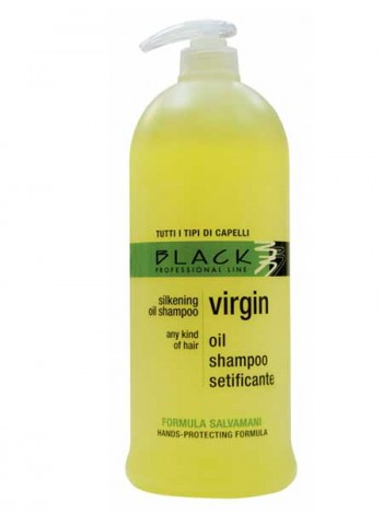 Шампунь Virgin Oil Shampoo. Black professional 1L