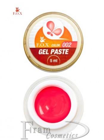 Гель-паста F.O.X Gel paste 02 малиновый
