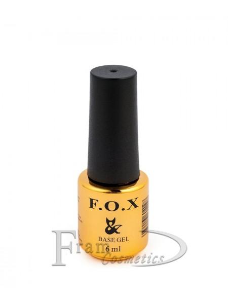 Базовое покрытие для ногтей F.O.X 3D Rubber Base