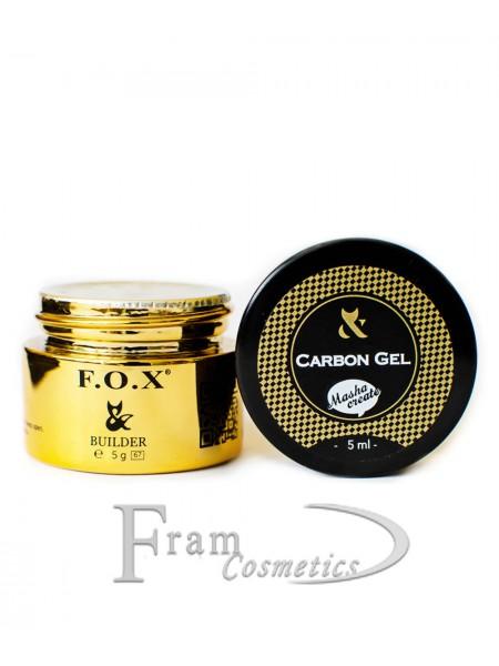 Гель для ремонта ногтевой пластины FOX  Carbon Gel Masha Create