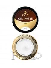 Гель-паста F.O.X Gel paste 01 белый