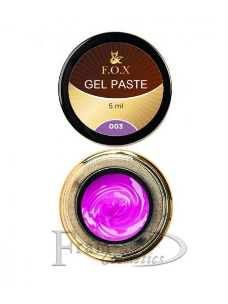 Гель-паста F.O.X Gel paste 03 сиреневый