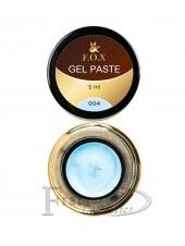 Гель-паста F.O.X Gel paste 04 голубой