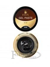 Гель-паста F.O.X Gel paste 06 черный
