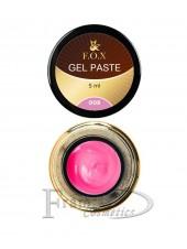 Гель-паста F.O.X Gel paste 08 розовый