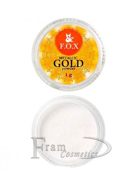 Зеркальная пудра F.O.X Metalic Gold powder