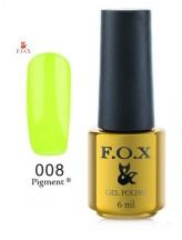 008 FOX gold Pigment 6ml