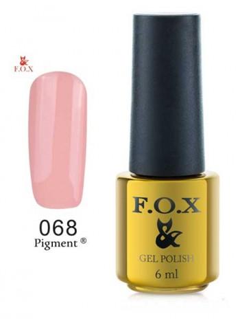 Гель-Лак FOX 068 Pigment светлый беж