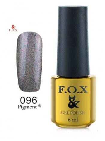 Гель лак FOX 096 графитовый