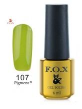107 FOX gold Pigment 6ml