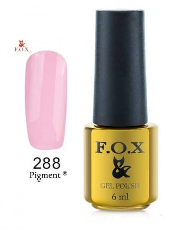 Гель лак FOX 288 очень нежный розовый цвет