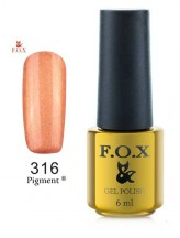 316 FOX gold Pigment 6ml
