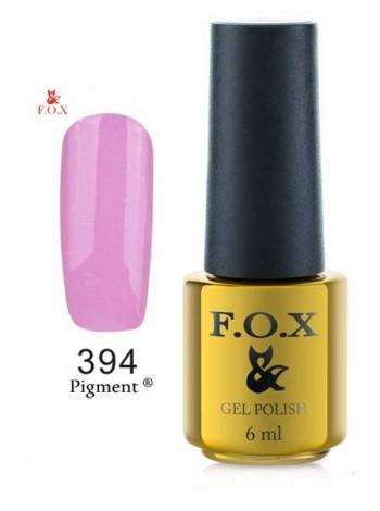Гель лак FOX 394 Gold Pigment светло-сиреневый