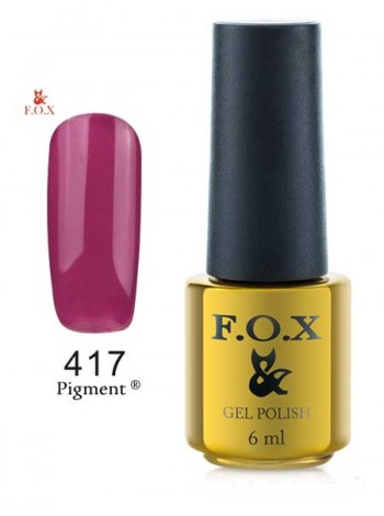 Гель лак FOX 417 вишневый