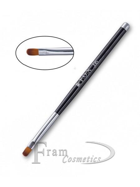 """Кисть  F.O.X 06 """"Плоская полукруглая"""" Art Brush"""