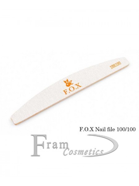 Пилочка для ногтей fox 100/100