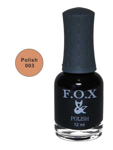 003 Polish FOX лак для ногтей