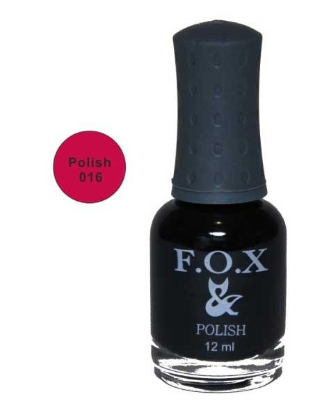 016 Polish FOX лак для ногтей