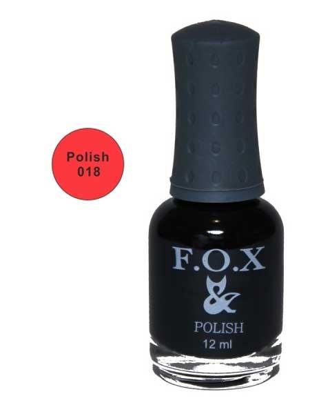 018 Polish FOX лак для ногтей