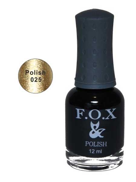 025 Polish FOX лак для ногтей