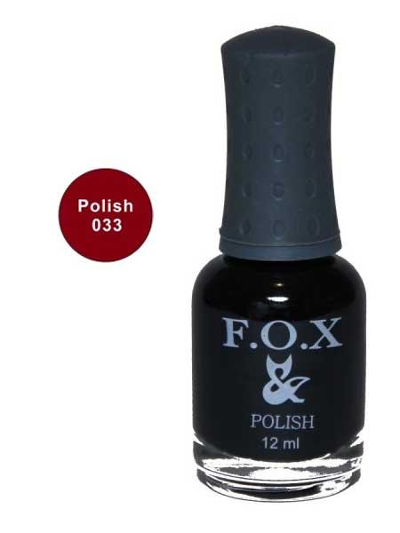 033 Polish FOX лак для ногтей