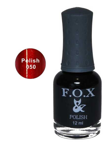 050 Polish FOX лак для ногтей 12ml