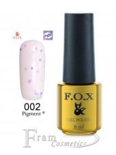 002 Гель лак FOX Masha Create (розовый, йогурт) 6ml