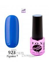 Гель лак FOX Masha Create 923 светло синий