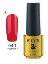 043 FOX gold Pigment 12ml