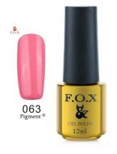 063 FOX gold Pigment 12ml