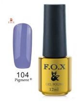 104 FOX гель-лак gold Pigment 12ml
