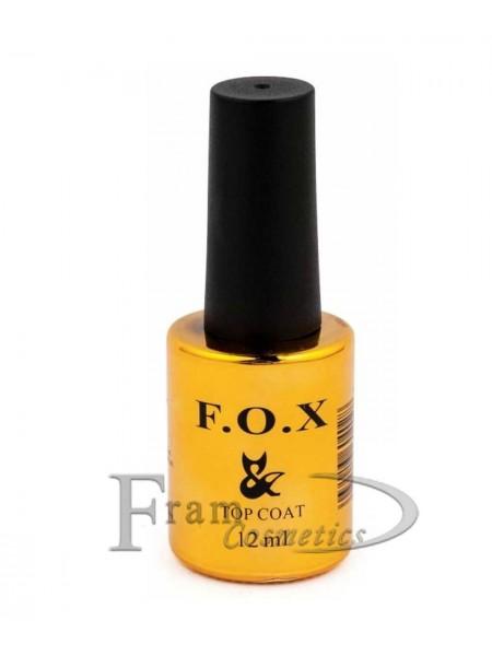 Топовое покрытие для ногтей F.O.X Top Rubber No Wipe