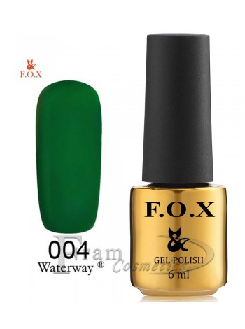 Гель-лак FOX WaterWay 004 зеленый